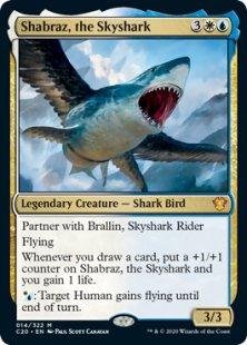 Shabraz, the Skyshark (foil)