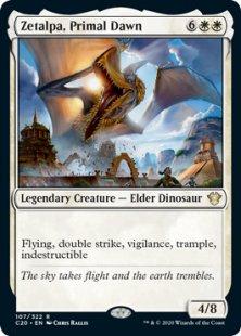 Primal Dawn-comandante 2020 ikoria rare-magicman-Europe * 2x zetalpa * mtg