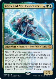 Adrix and Nev, Twincasters (foil)