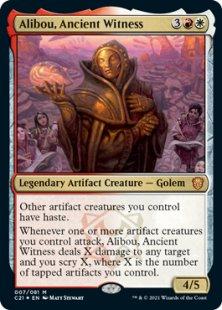 Alibou, Ancient Witness (foil)