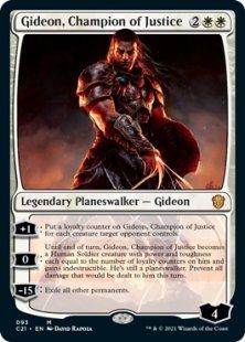 Gideon, Champion of Justice