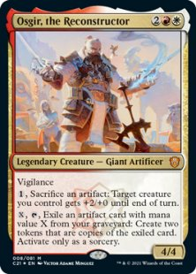 Osgir, the Reconstructor (foil)