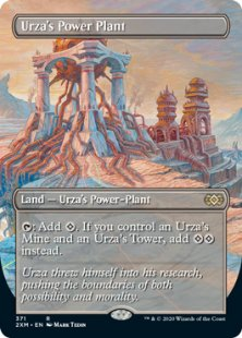 Urza's Power Plant (borderless)