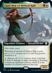 Catti-brie of Mithral Hall (extended art)