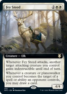Fey Steed (extended art)