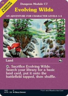 Evolving Wilds (showcase)