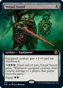Vorpal Sword (extended art)