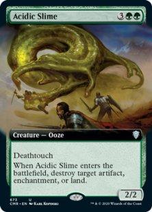 Acidic Slime (foil) (extended art)