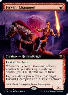 Fervent Champion (extended art)
