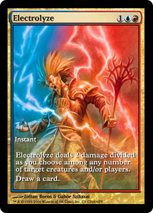 Electrolyze (full art)