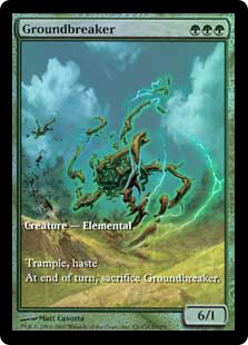 Groundbreaker (foil) (full art)