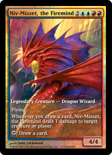 Niv-Mizzet, the Firemind (foil) (full art)