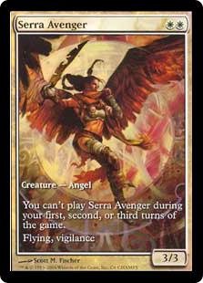 Serra Avenger (foil) (full art)