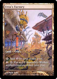 Urza's Factory (full art)