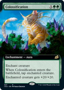 Colossification (extended art)