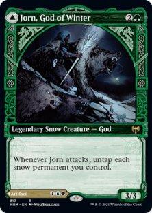 Jorn, God of Winter (showcase)