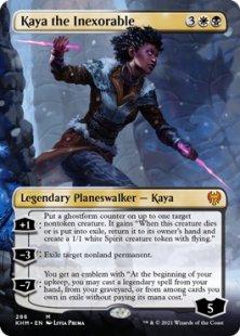 Kaya the Inexorable (borderless)