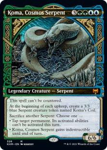 Koma, Cosmos Serpent (showcase)
