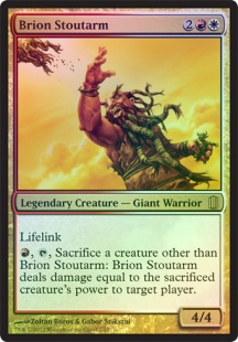 Brion Stoutarm (foil) (oversized)