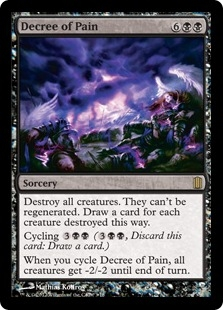 Decree of Pain (foil)