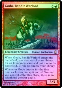 Godo, Bandit Warlord (foil) (oversized)