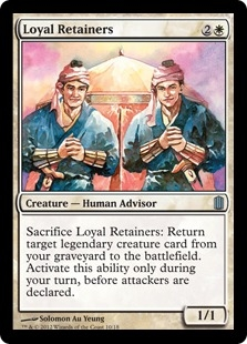 Loyal Retainers (foil)