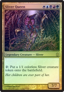 Sliver Queen (foil) (oversized)