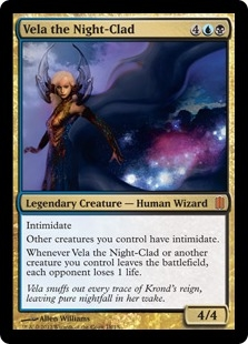 Vela the Night-Clad (foil)