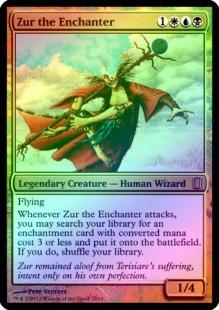 Zur the Enchanter (foil) (oversized)