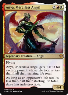Anya, Merciless Angel (foil)