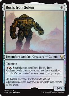 Bosh, Iron Golem (foil)