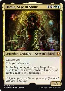 Damia, Sage of Stone (foil)