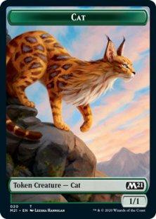 Cat token (2) (foil) (1/1)