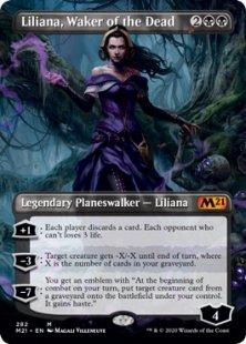 Liliana, Waker of the Dead (1) (borderless)