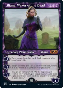 Liliana, Waker of the Dead (2) (showcase)