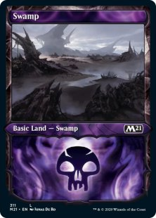 Swamp (foil) (showcase)