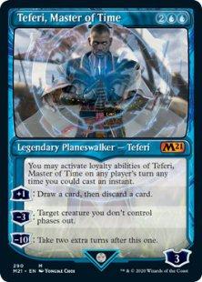Teferi, Master of Time (2) (showcase)