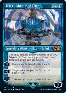 Teferi, Master of Time (5) (foil) (showcase)