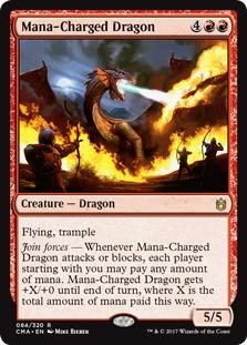 Mana-Charged Dragon