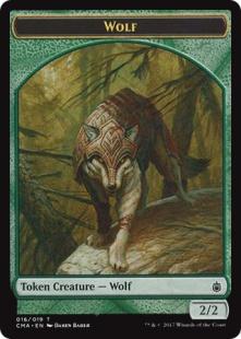 Wolf token (1) (2/2)