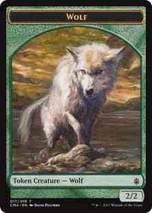 Wolf token (2) (2/2)