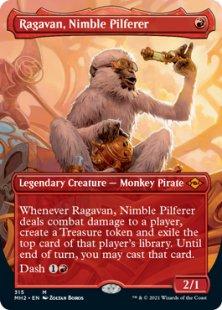 Ragavan, Nimble Pilferer (borderless)