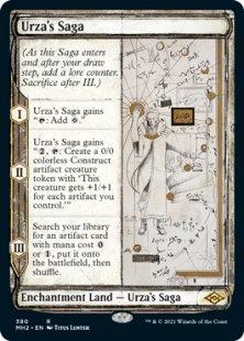 Urza's Saga (sketch) (showcase)