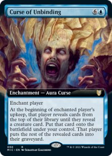 Curse of Unbinding (extended art)