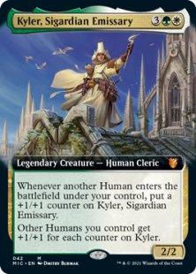 Kyler, Sigardian Emissary (extended art)