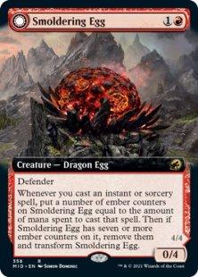 Smoldering Egg (extended art)