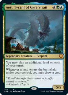 Aesi, Tyrant of Gyre Strait (foil)