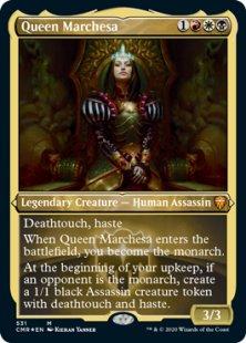 Queen Marchesa (foil-etched) (showcase)