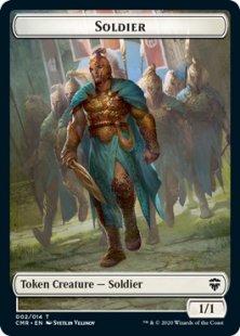 Soldier token (foil) (1/1)