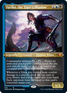 Yuriko, the Tiger's Shadow (foil) (showcase)
